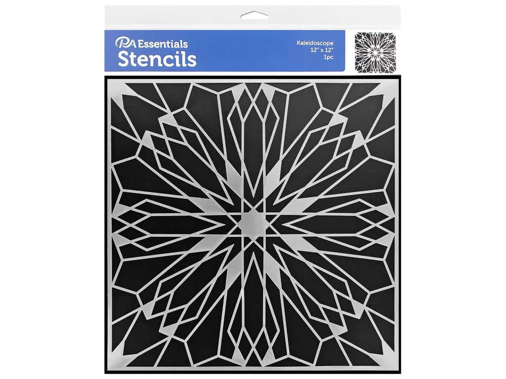 PA Essentials Stencil 12 x 12 in. Kaleidoscope
