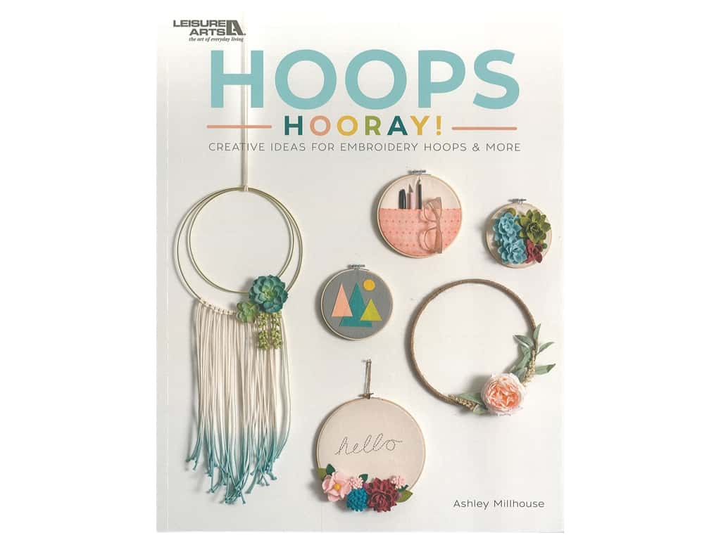 Leisure Arts Hoops Hooray Book