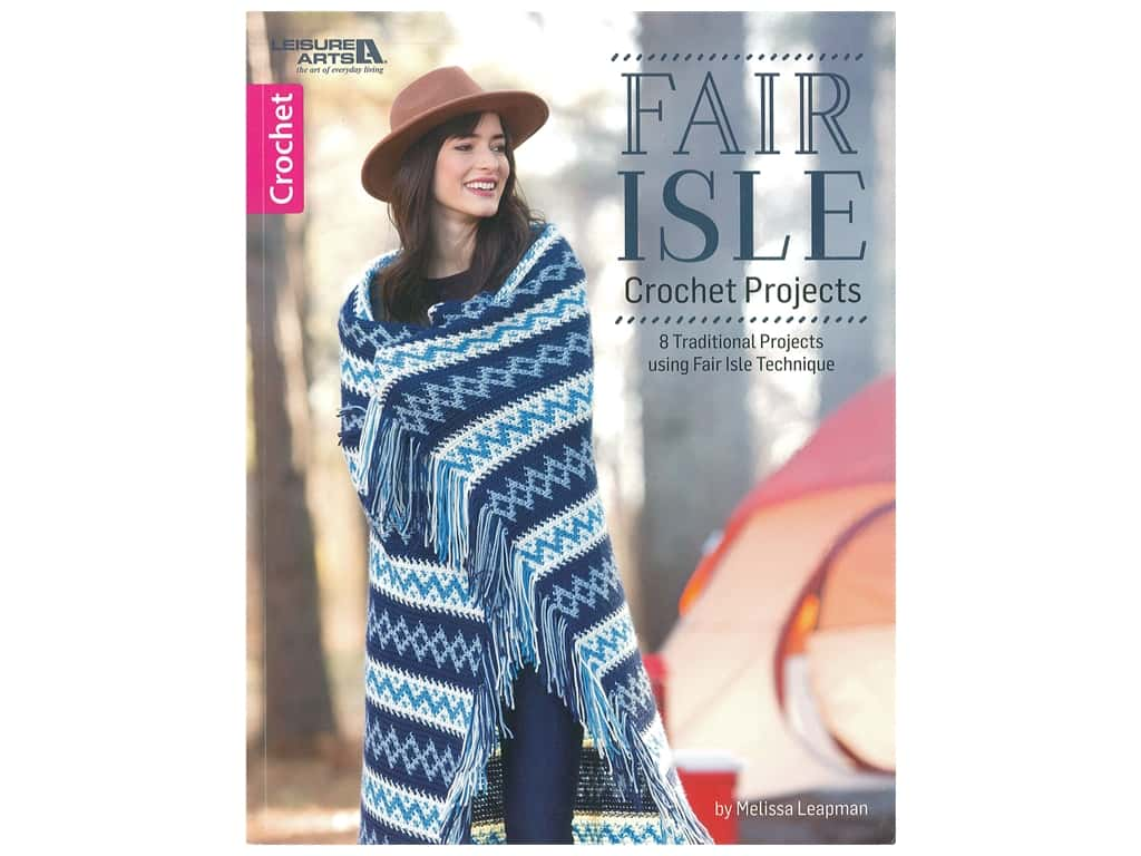 Leisure Arts Fair Isle Crochet Book