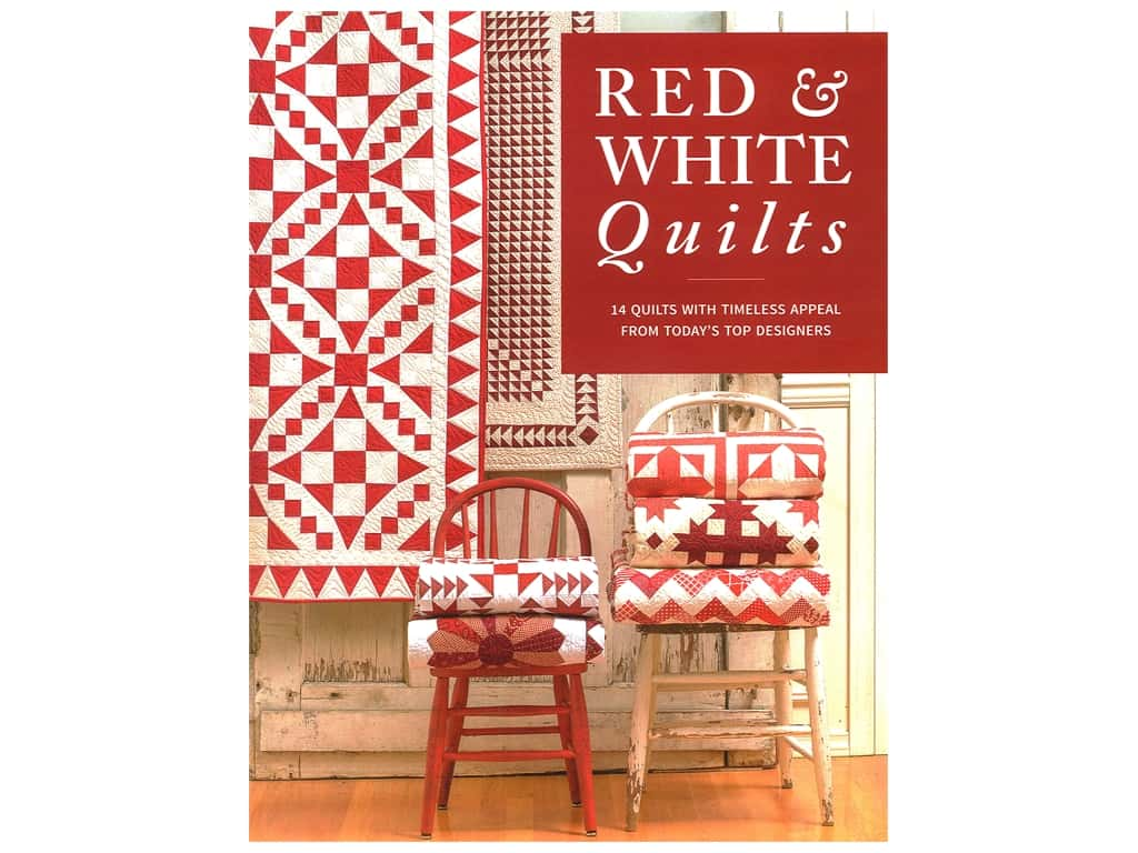 That Patchwork Place Red & White Quilts Book