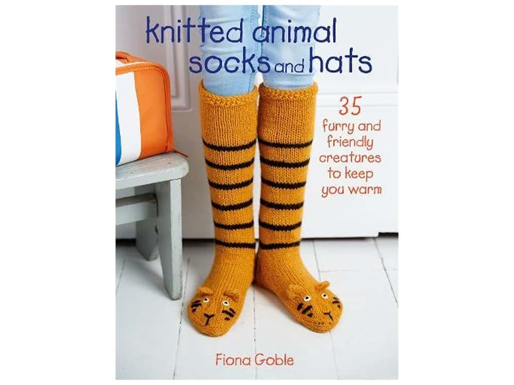 Cico Knitted Animal Socks And Hats Book