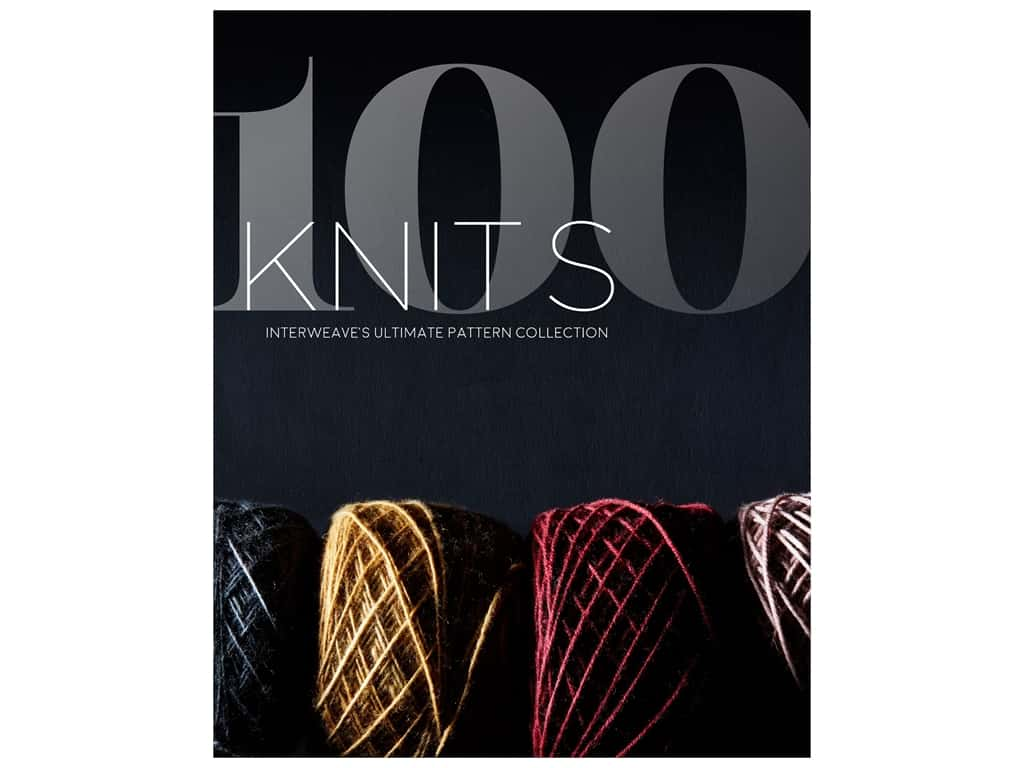 Interweave Press 100 Knits Interweave's Ultimate Pattern Collection Book