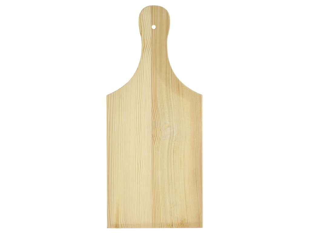Sierra Pacific Crafts Wood Paddle Unfinished 9.75 in. x 4.25 in. x .25 in.