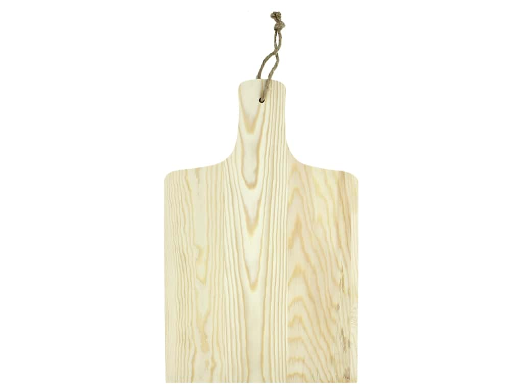 Sierra Pacific Crafts Wood Cheese Board Unfinished 9.75 in. x 15.75 in. x .5 in.