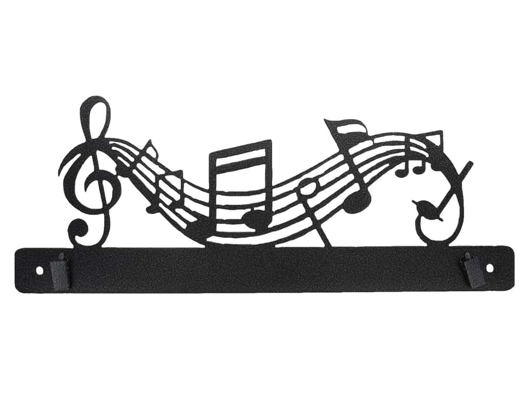Ackfeld Craft Holder 14 in. Music with Clips
