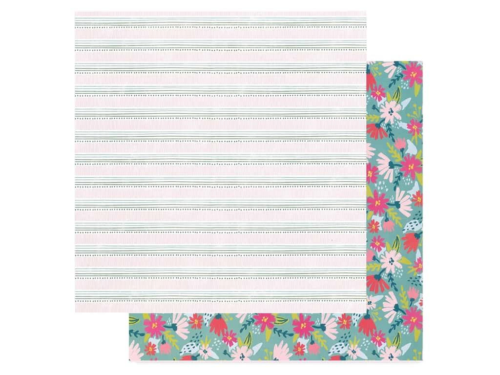 American Crafts Dear Lizzy 12 x 12 in. Paper New Day Stay Humble (25 pieces)