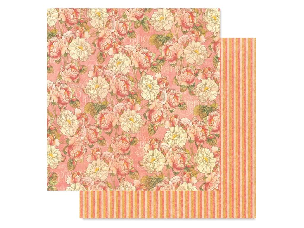 Graphic 45 Collection Princess Paper 12 in. x 12 in. Roses For Royalty (25 pieces)