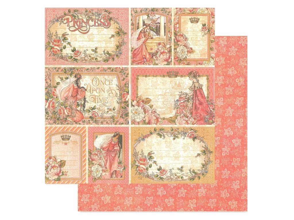 Graphic 45 Collection Princess Paper 12 in. x 12 in. Your Highness (25 pieces)