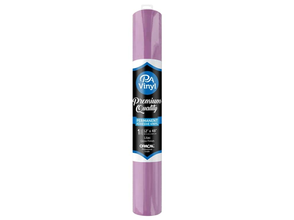 PA Adhesive Vinyl 12 x 48 in. Permanent Gloss Lilac