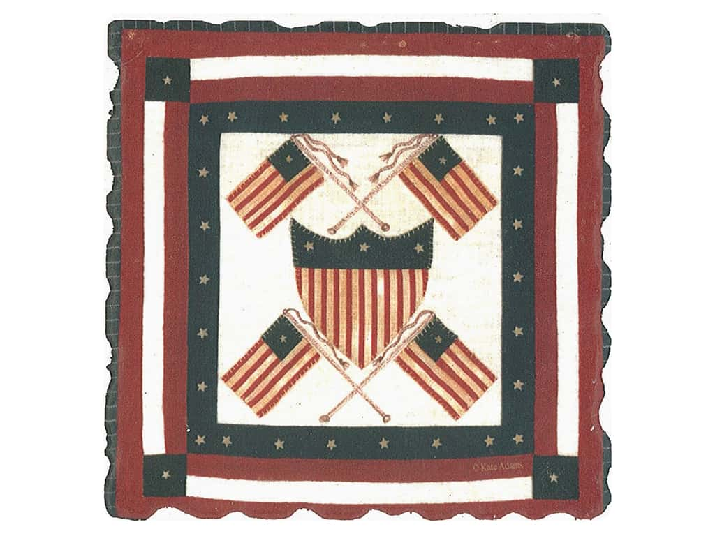Graphic Impressions American Quilts Coaster #5 (6 pieces)