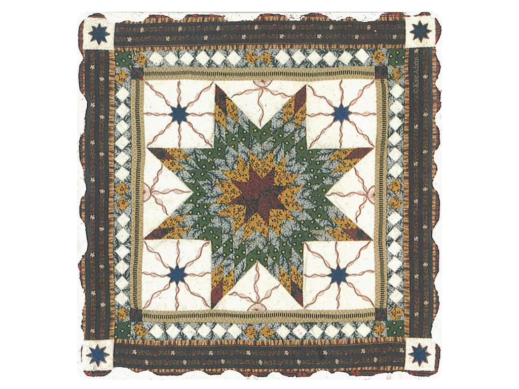 Graphic Impressions American Quilts Coaster #8 (6 pieces)