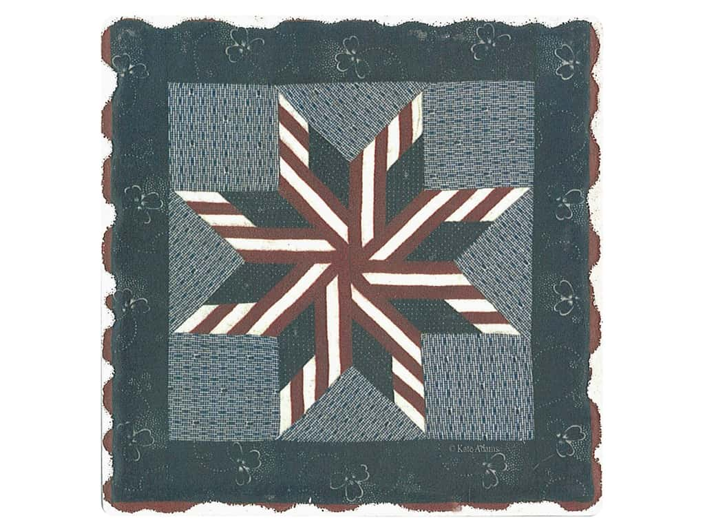 Graphic Impressions American Quilts Coaster #4 (6 pieces)
