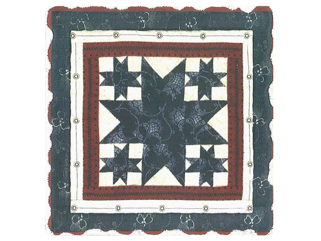 Graphic Impressions American Quilts Coaster #10 (6 pieces)