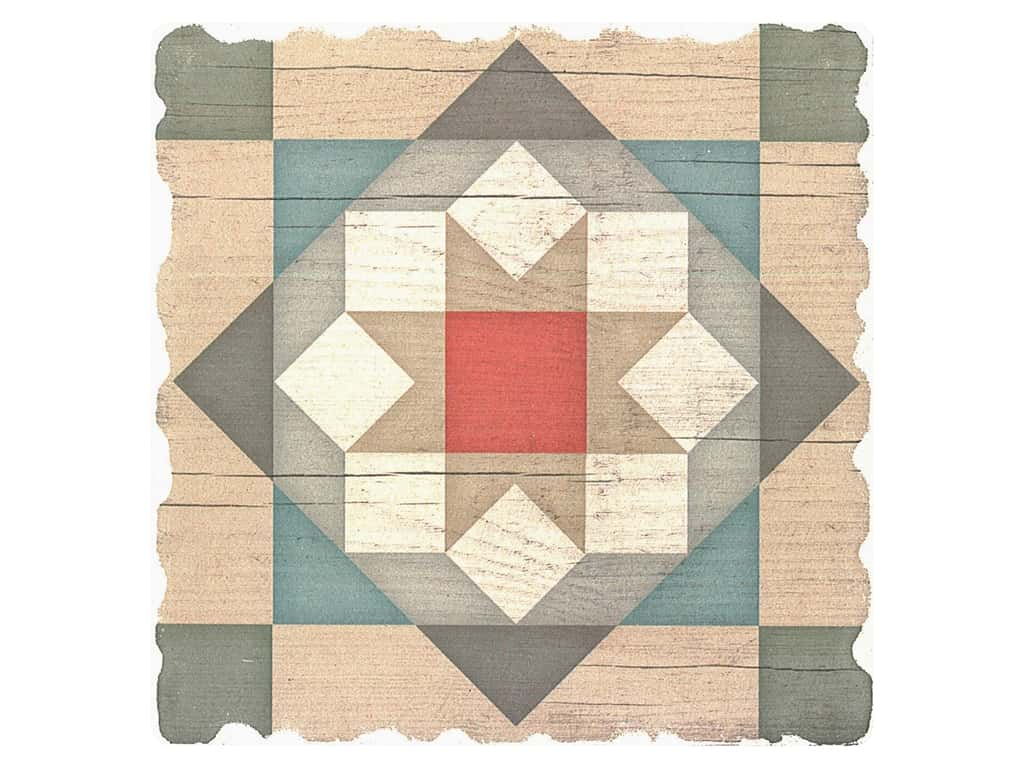 Graphic Impressions Barn Quilts Coaster Barn Star (6 pieces)