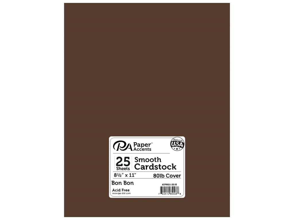 Paper Accents Cardstock 8 1/2 x 11 in. #93 Smooth Bon Bon 25 pc.