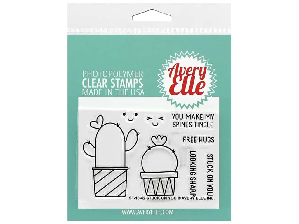 Avery Elle Clear Stamp Stuck On You