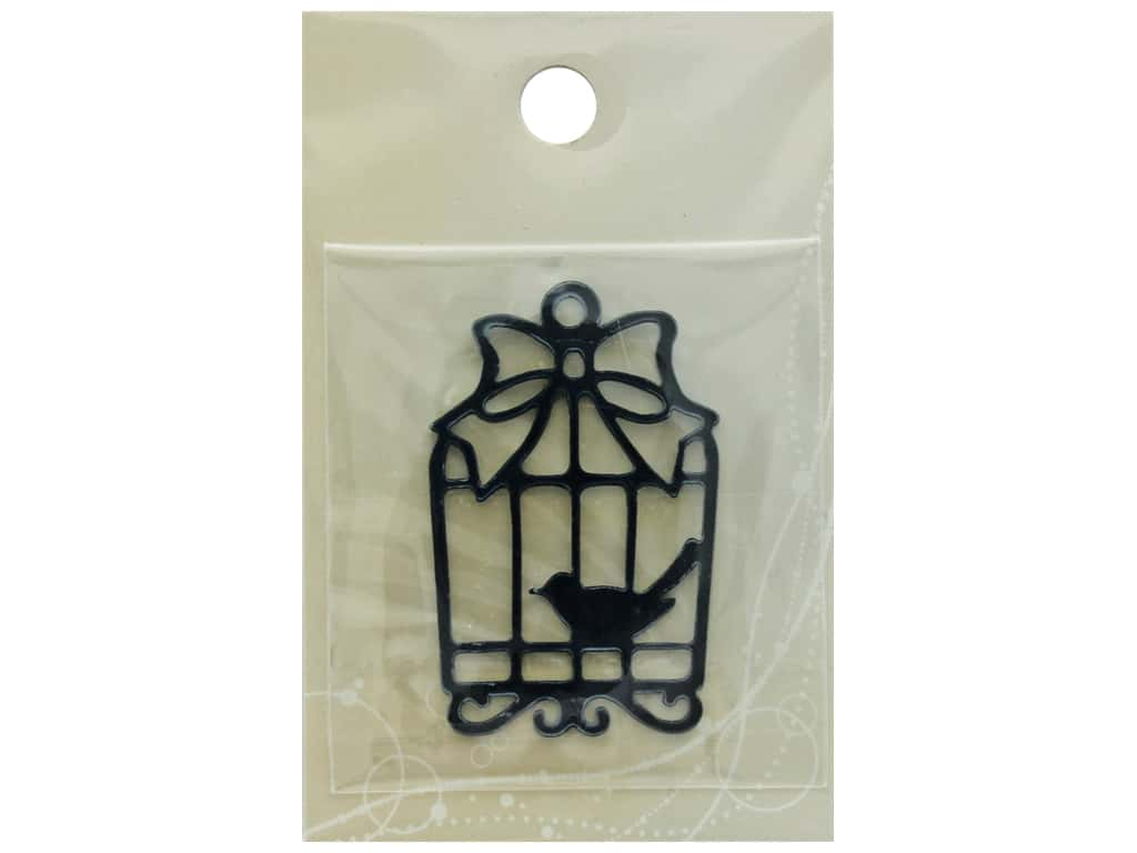 Resinate Plate Silhouette Bird Cage