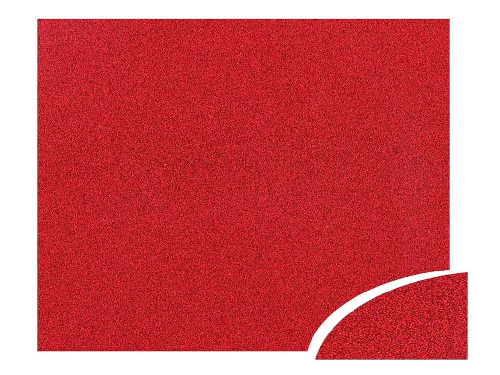 Paper Accents Glitter Cardstock 22 x 28 in. #G04 Red 10 pc.