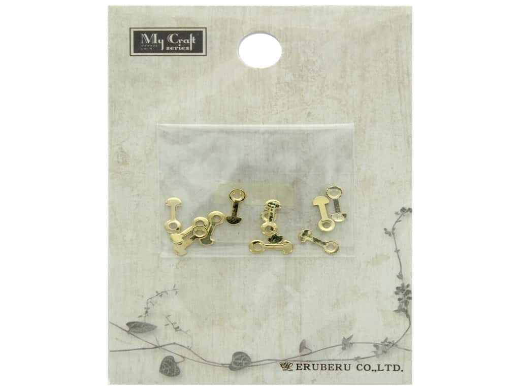 Resinate Eye Plate Gold 10pc