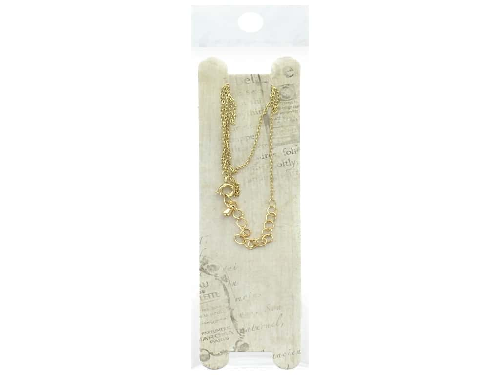 Resinate Necklace Chain Thin 45cm Gold