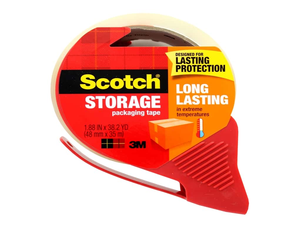 Scotch Tape Moving & Storage Packaging 1.88 in. x 38.2 yd