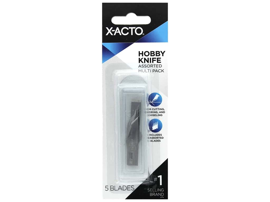 X-Acto Replacement Blades #1 Assortment 5 pc.