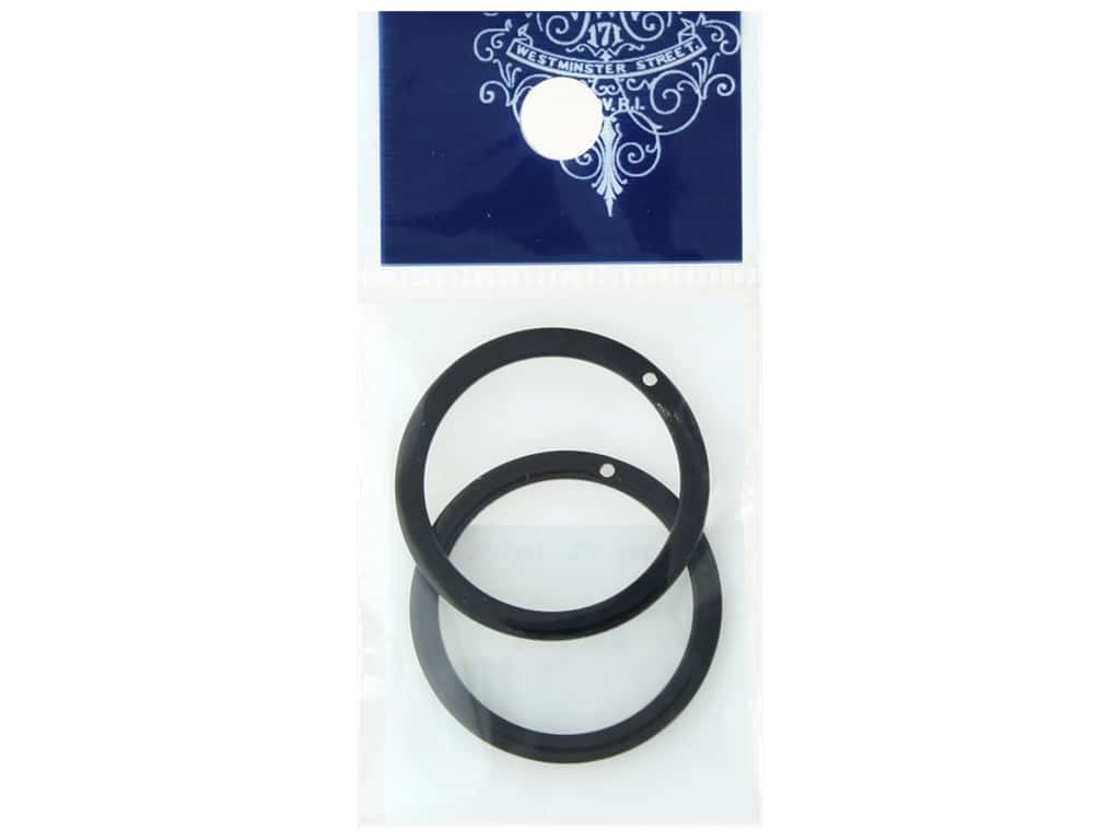 Resinate Plate Part Ring Black 2pc