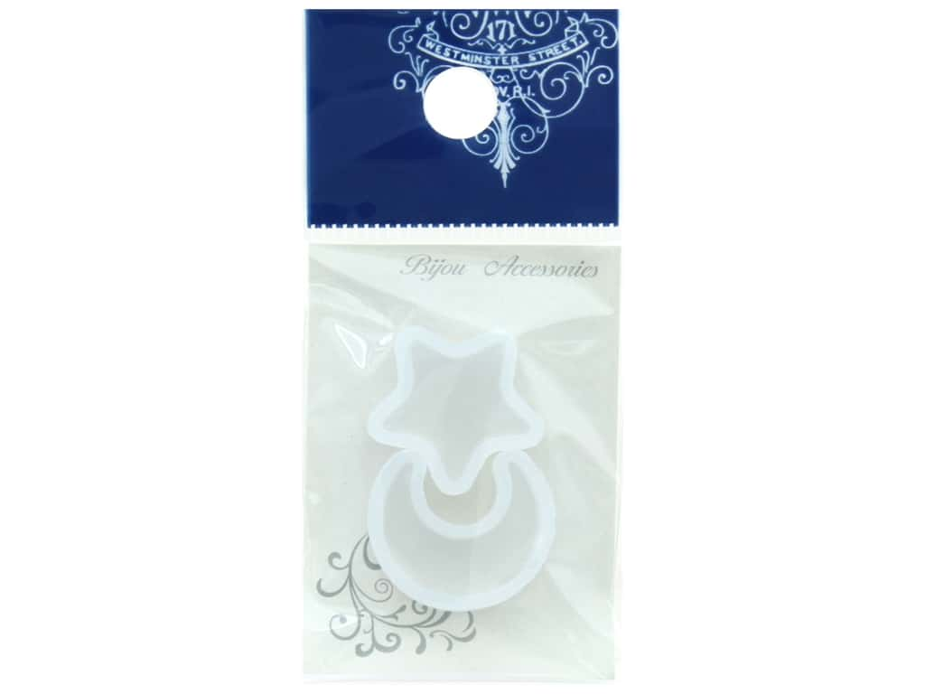 Resinate Mold Silicone Mini Moon & Star 2 pc