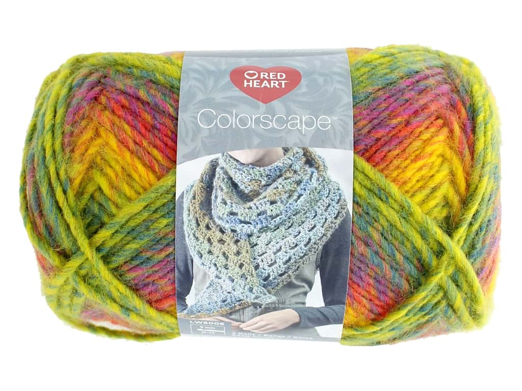 Coats & Clark Red Heart Colorscape Yarn 3.5 oz Acapulco