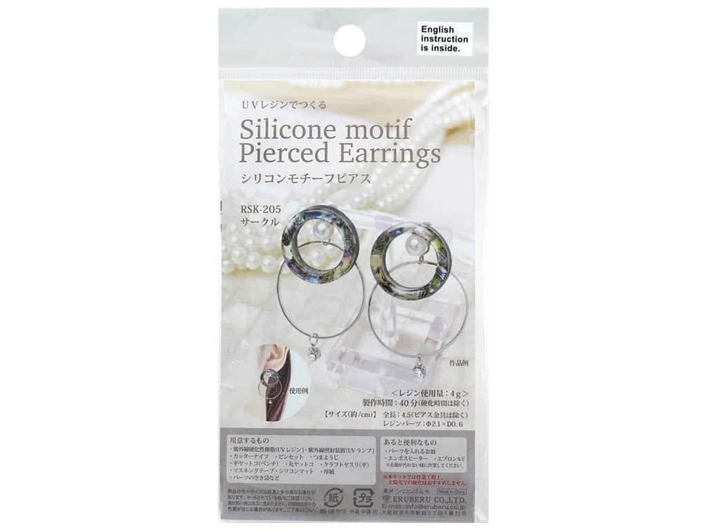 Resinate Kit Earring Silicone Round