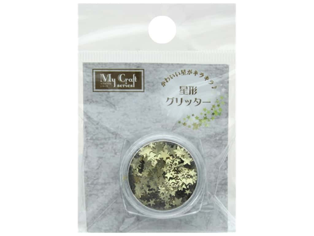 Resinate Glitter Star 1.5 gm Gold