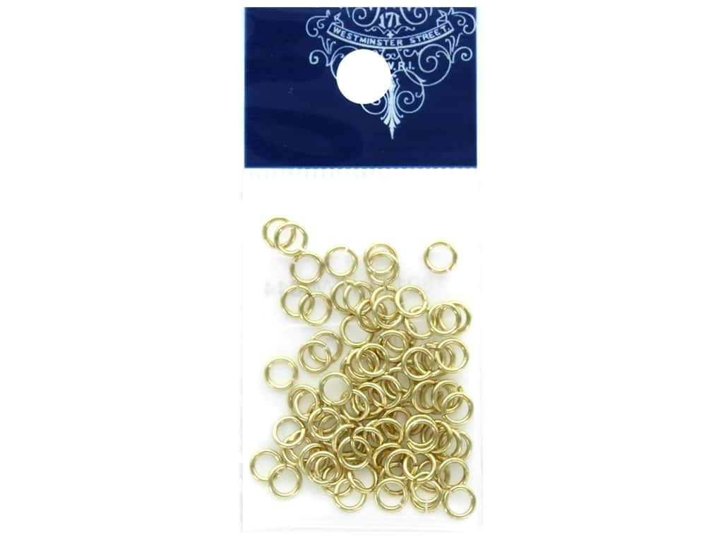 Resinate Jump Ring 0.8 x 5.0 mm Gold .17 oz