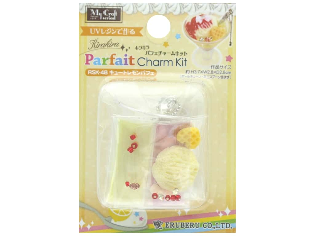 Resinate Kit Charm Mini Parfait Lemon