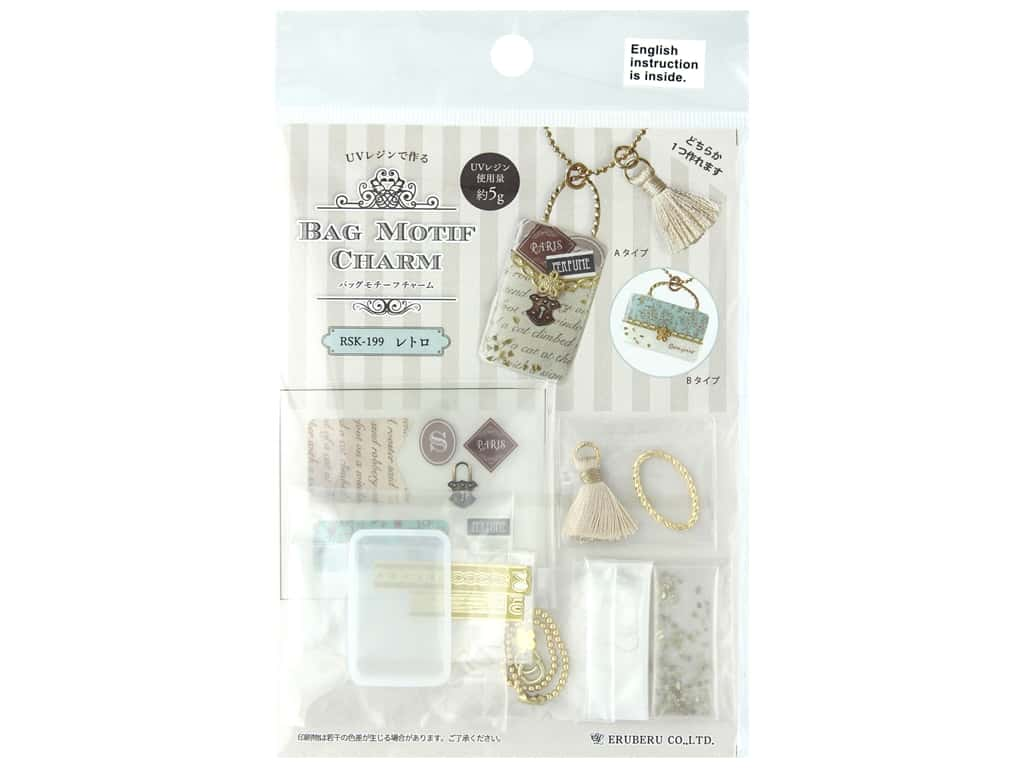 Resinate Kit Charm Silicone Bag Gold