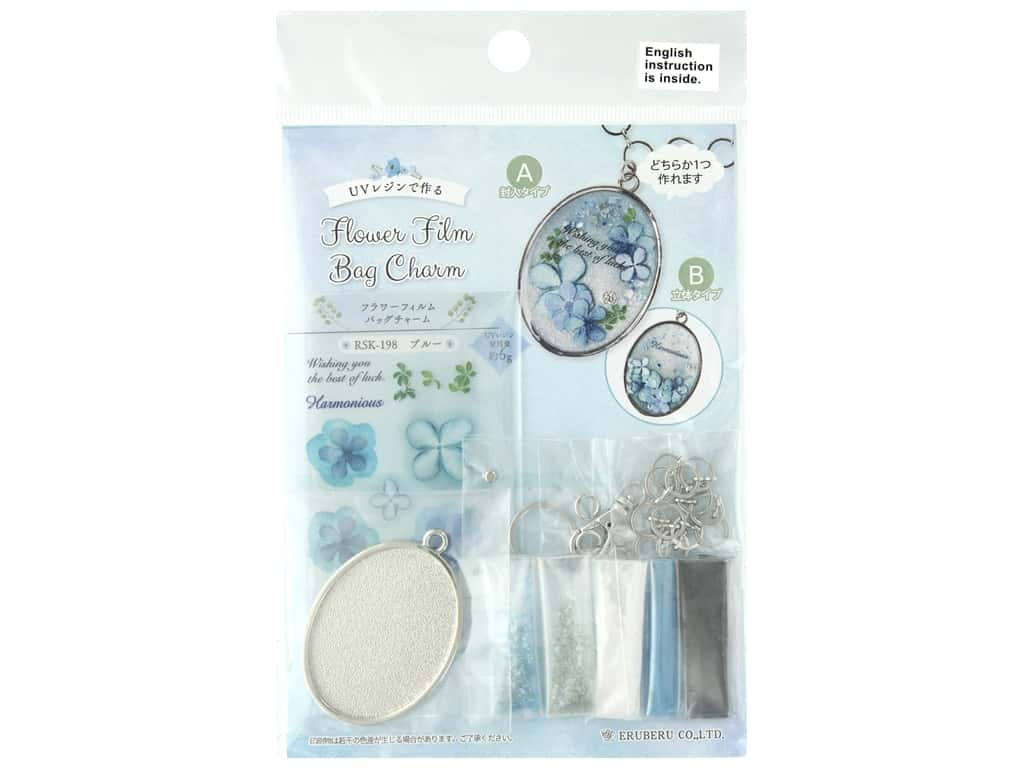 Resinate Kit Charm Film Bag Flower Blue