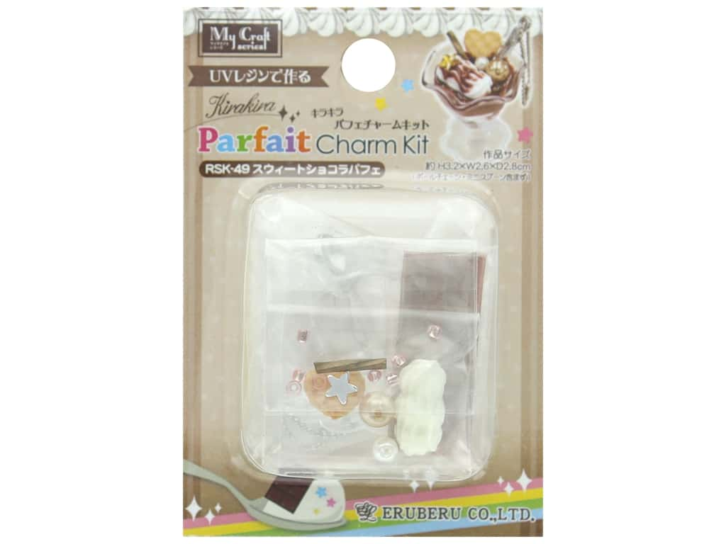 Resinate Kit Charm Mini Parfait Chocolate