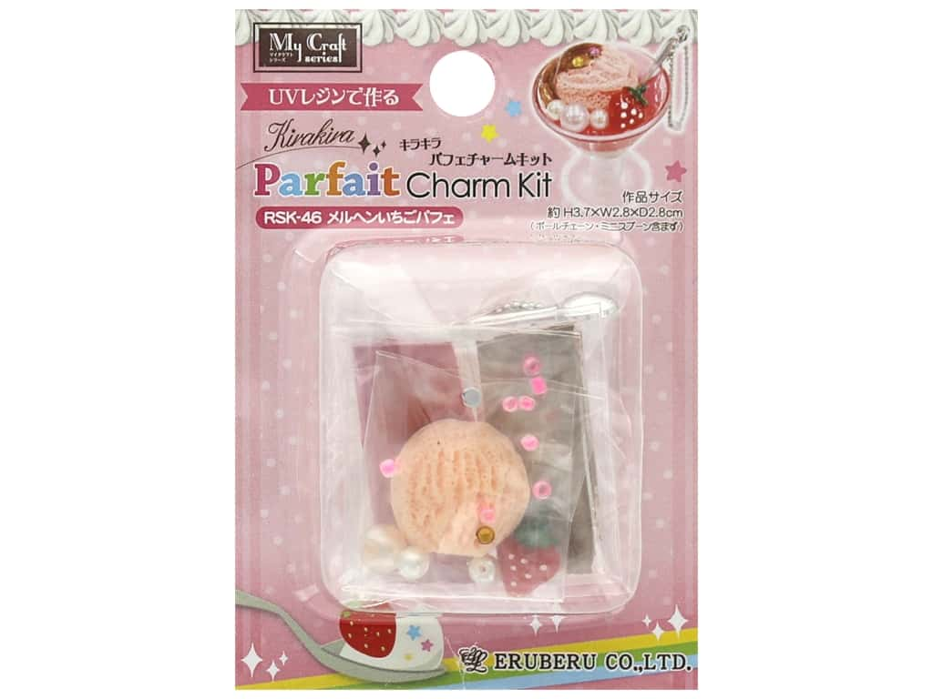 Resinate Kit Charm Mini Parfait Strawberry