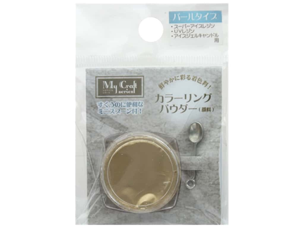 Resinate Coloring Powder 1.5 gm Pearl Antique Gold