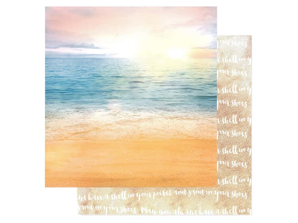 Paper House Paper 12 in. x 12 in. Paradise Beach (15 pieces)