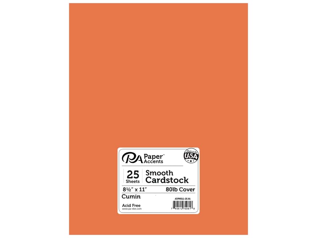 Paper Accents Cardstock 8 1/2 x 11 in. #81 Smooth Cumin 25 pc.
