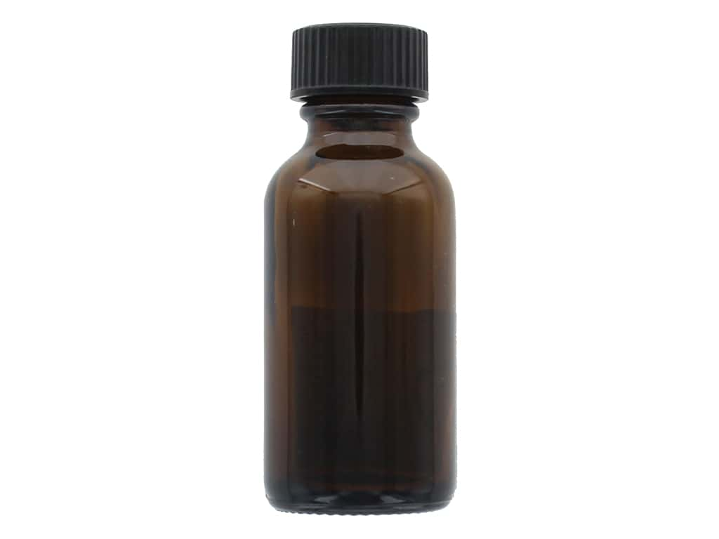 Sierra Pacific Crafts Storage Glass Vial With Screw Lid 1.25 in. x 3.25 in. Brown