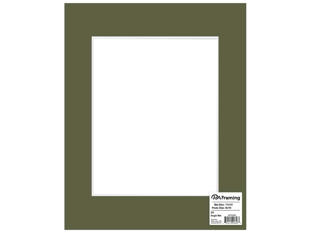 PA Framing Core 11 in. x 14 in. /8 in. x 10 in. White Core Dill