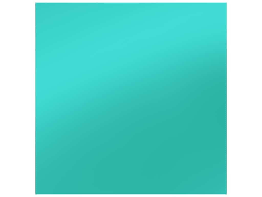 PA Adhesive Vinyl 12 x 12 in. Removable Matte Turquoise (12 sheets)