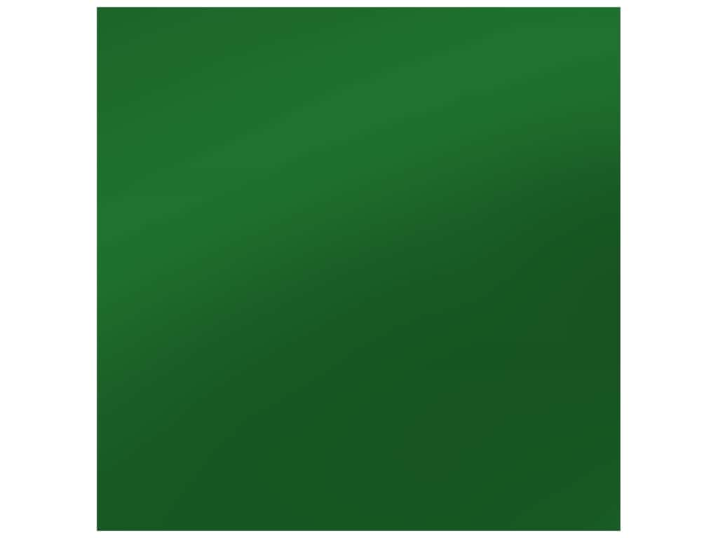 PA Adhesive Vinyl 12 x 12 in. Removable Matte Dark Green (12 sheets)