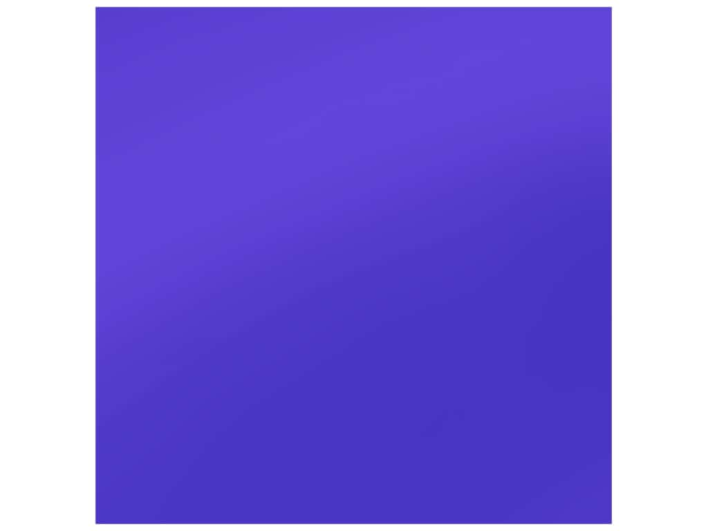 PA Adhesive Vinyl 12 x 12 in. Removable Matte Brilliant Blue 12 pc. (12 sheets)