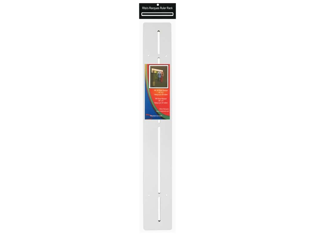 Rita's Racques Ruler Rack 36 in.