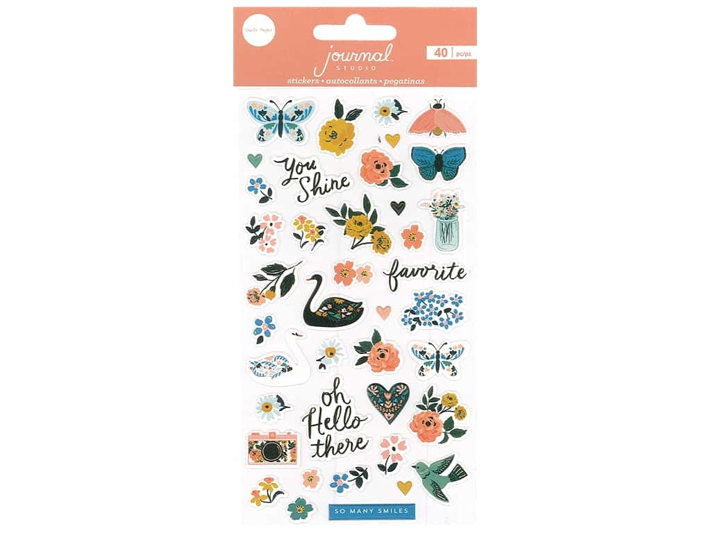 Crate Paper Stickers Journal Studio Puffy