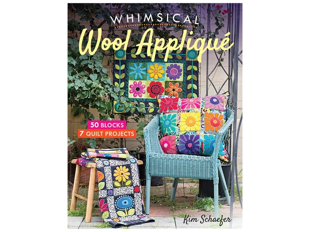 C&T Publishing Whimsical Wool Applique Book