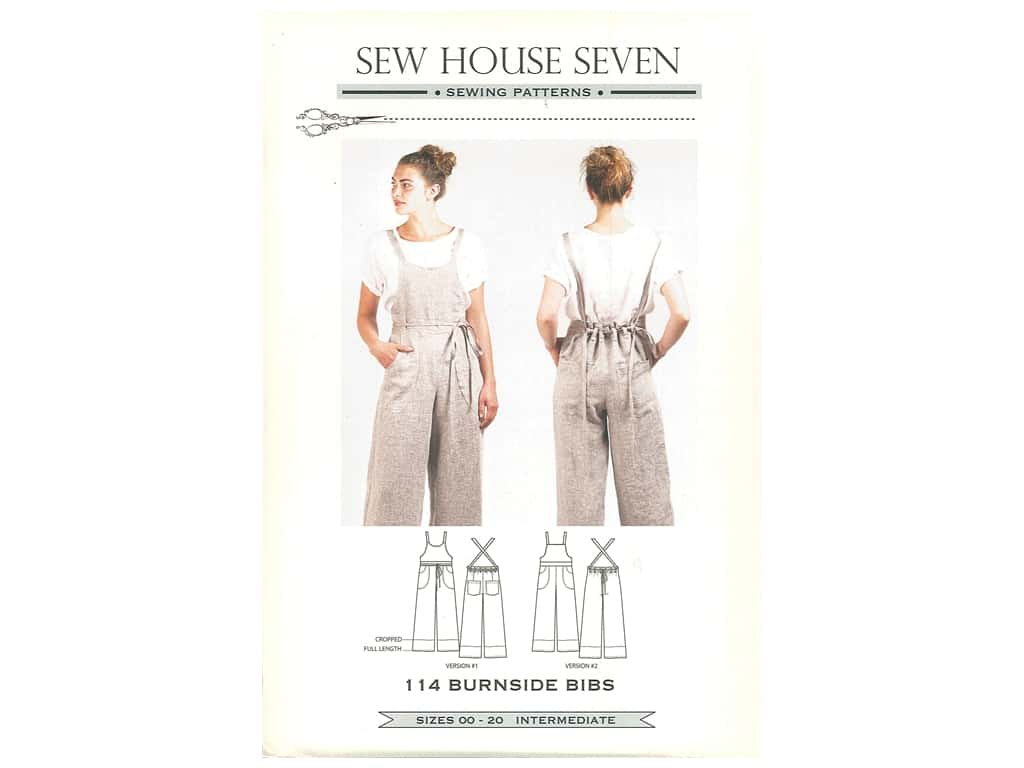 Sew House Seven Burnside Bibs Pattern