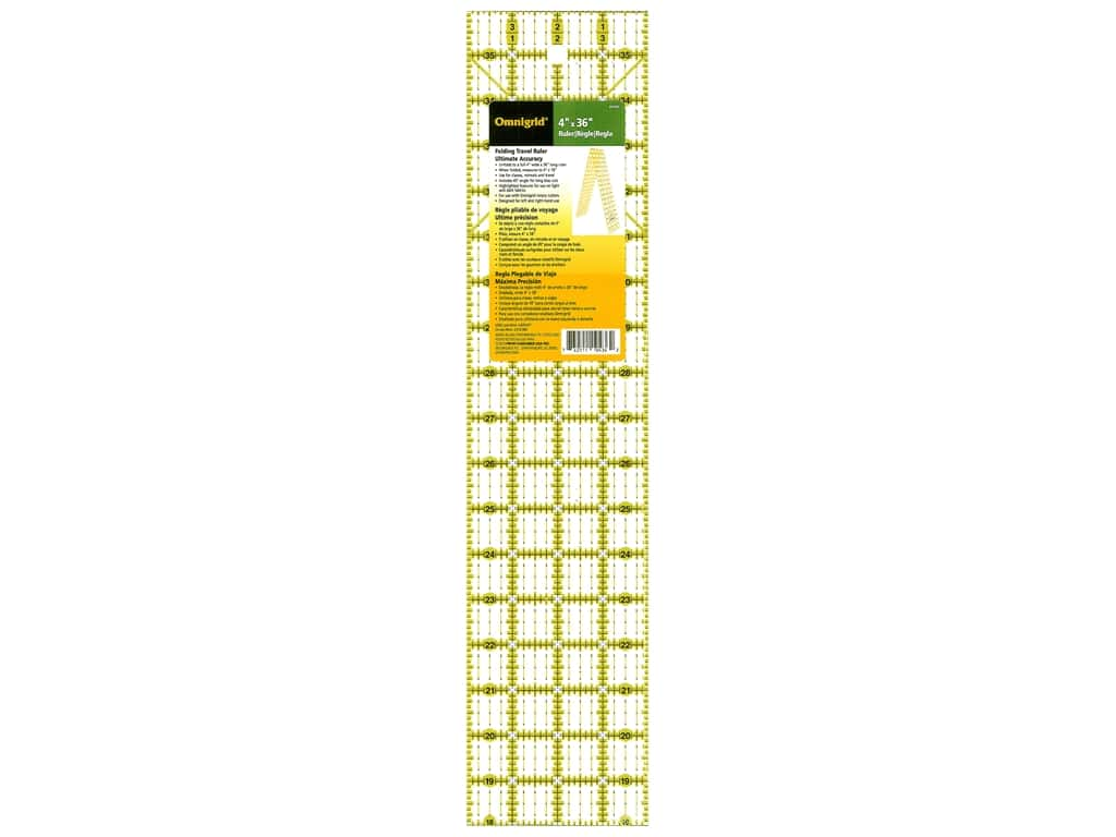 Omnigrid Folding Ruler 4 x 36 in.